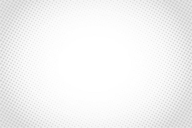 Estilo de desenho animado abstrato de meio-tom branco ou luz do sol Vetor Premium