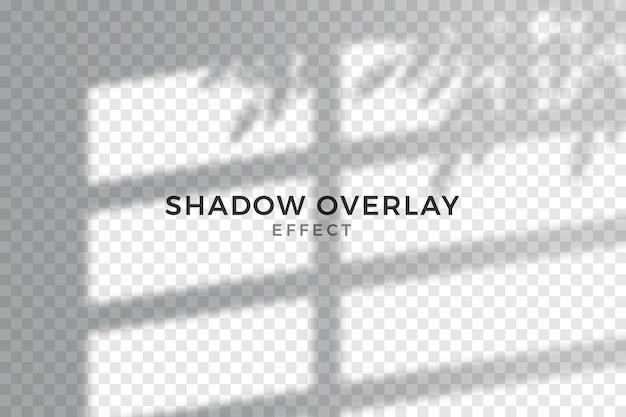 Estilo de efeito de sobreposição de sombras transparentes