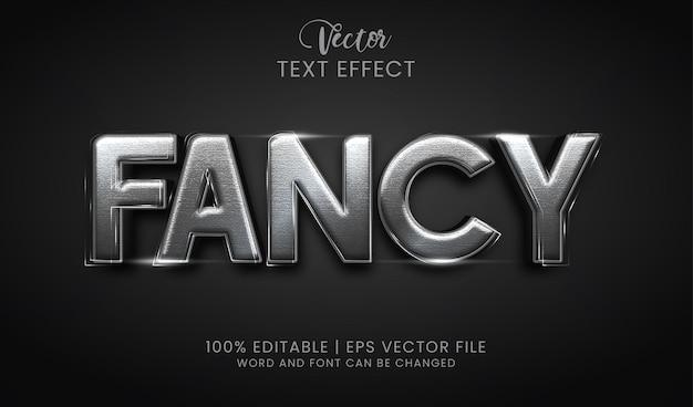 Estilo de efeito de texto sofisticado editável
