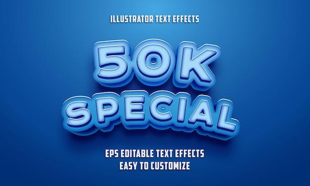 Estilo de efeitos de texto editáveis no eps