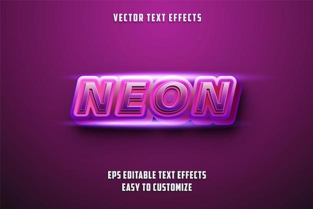 Estilo de efeitos de texto editáveis