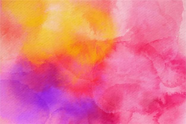 Estilo de fundo colorido em aquarela