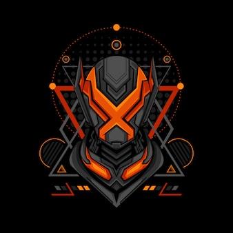 Estilo de geometria do projeto x