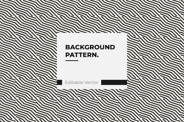 Estilo de linha retro de padrão de textura