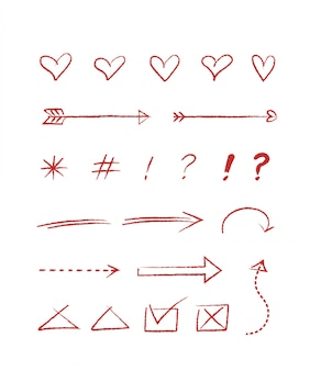 Estilo de mão desenhada para conceito de design. ilustração doodle. modelo para decoração