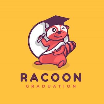 Estilo de mascote de logotipo castor simples.