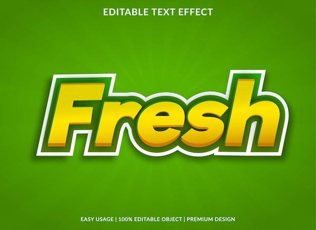 Estilo de modelo de efeito de texto novo