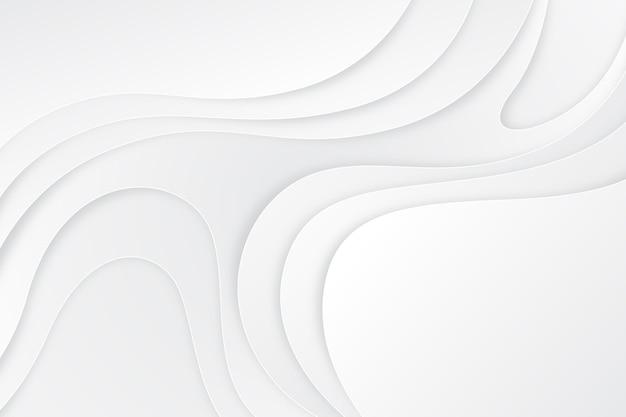 Estilo de papel abstrato branco