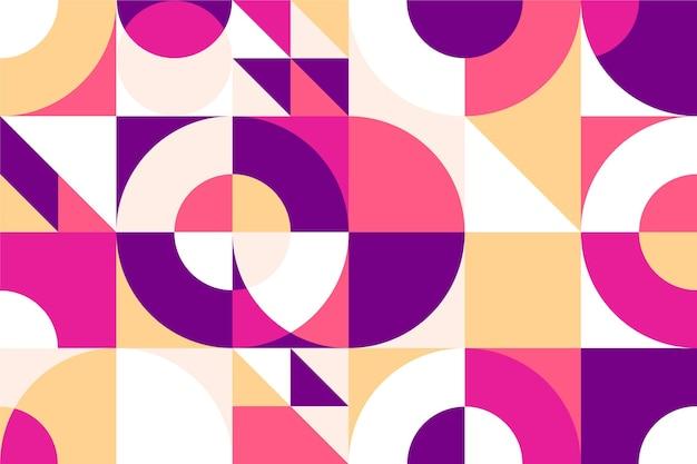 Estilo de papel de parede geométrico mínimo