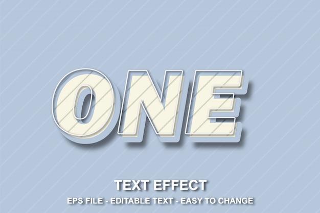 Estilo de pop art de efeito de texto