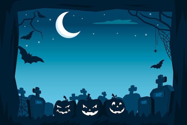 Estilo de quadro de halloween