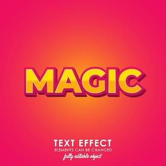 Estilo de texto premium mágico