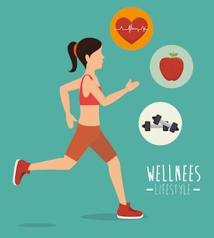 Estilo de vida de saúde wellnees