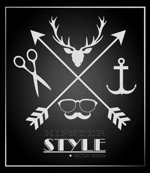 Estilo de vida hispter e moda