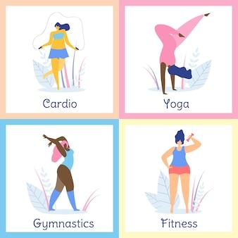 Estilo de vida saudável das mulheres excesso de peso atrativas.