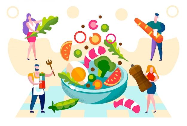 Estilo de vida saudável e nutrição de alimentos orgânicos.