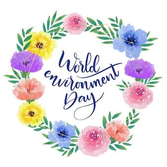 Estilo do dia mundial do meio ambiente