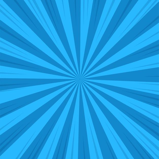 Estilo dos desenhos animados do fundo de abstack. ray ou luz solar