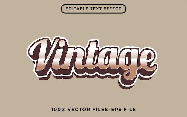 Estilo - efeito de texto editável do ilustrador premium vector