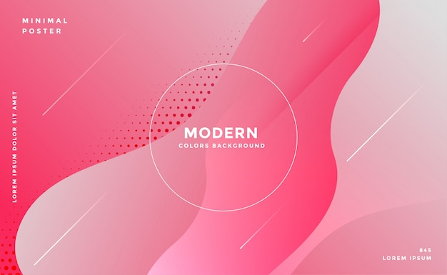 Estilo elegante fluido abstrato rosa