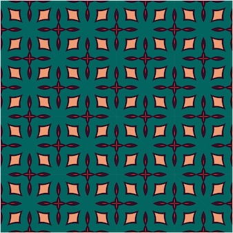 Estilo étnico de design de padrão uniforme