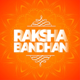 Estilo étnico feliz raksha bandhan festival indiano de fundo