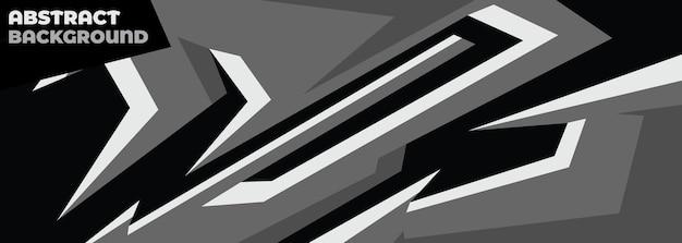 Estilo geométrico abstrato de decalque de carro esporte