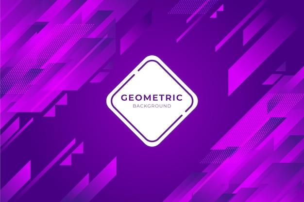 Estilo geométrico de fundo