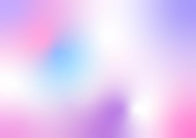 Estilo gradiente de holograma de malha colorida abstrata
