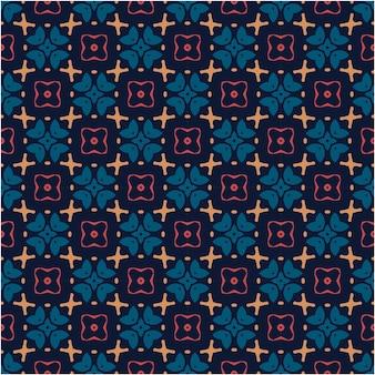 Estilo minimalista de design de padrão étnico