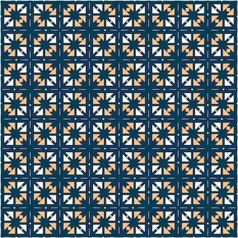 Estilo minimalista de design de padrão geométrico abstrato Vetor Premium