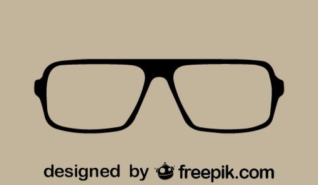 Estilo vintage óculos de