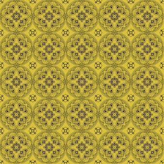 Estilo vintage padrão floral sem costura