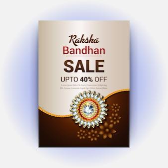 Estilos raksha bandhan design de cartão