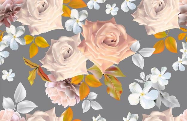 Estilos românticos do ramalhete floral