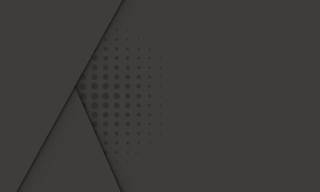 Estipes pretos abstratos com ilustração vetorial de meio-tom