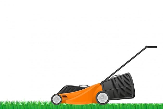 Estoque de cortador de grama.