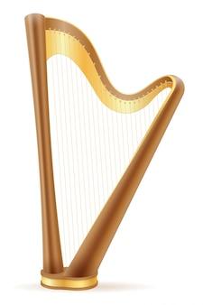 Estoque de harpa.