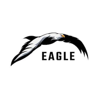 Estoque do logotipo da águia criativa