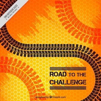 Estrada para o desafio, fundo