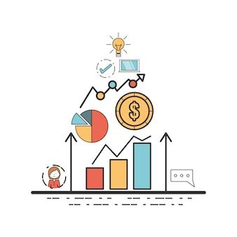 Estratégia corporativa da busines para beneficiar a empresa