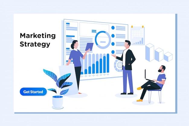Estratégia de marketing e planejamento