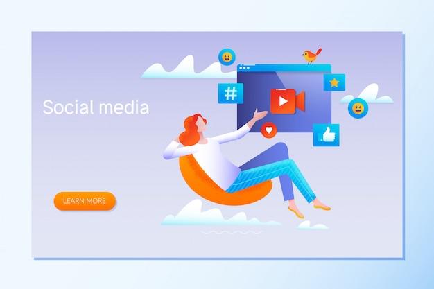 Estratégia de mídia social