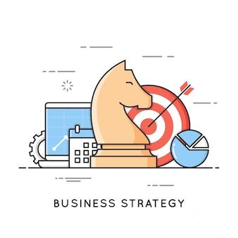 Estratégia de negócios, planejamento, gerenciamento de projetos, análise financeira