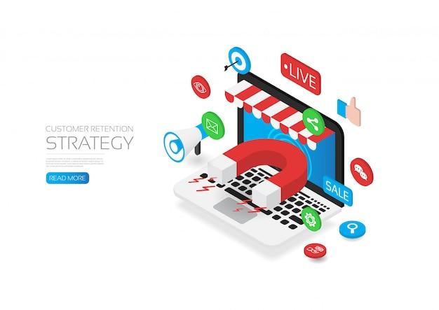Estratégia de retenção de clientes