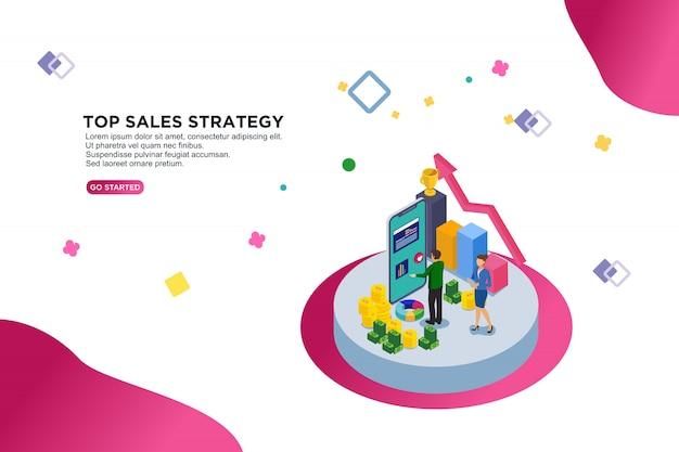 Estratégia de vendas superior