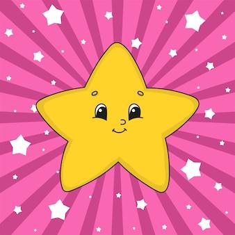 Estrela amarela.