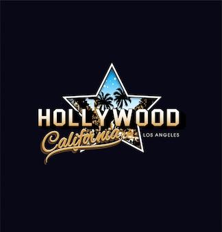 Estrela de hollywood califórnia