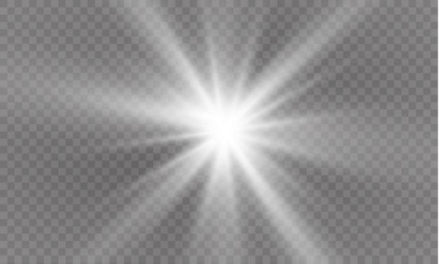 Estrela, efeito de luz
