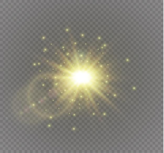 Estrela em uma ilustração de fundo transparente